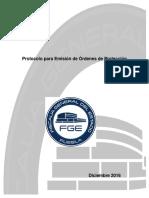 PROTOCOLO PARA EMISIÓN DE ÓRDENES DE PROTECCIÓN