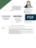 Teacher-Resume