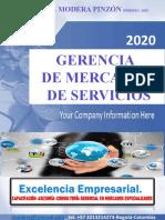 GERENCIA DE MERCADEO DE SERVICIOS SEMINARIO FEBRERO 2020 ING. IVONNE MODERA P.pptx