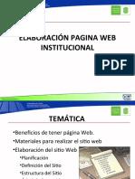 Pag Web Institucional