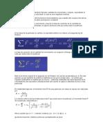 Momento lineal relativista y segunda ley de Newtton