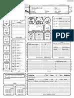 D&D 5E Dread-Warlock lvl3