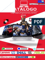CATALAGO LAPTOPS 2020