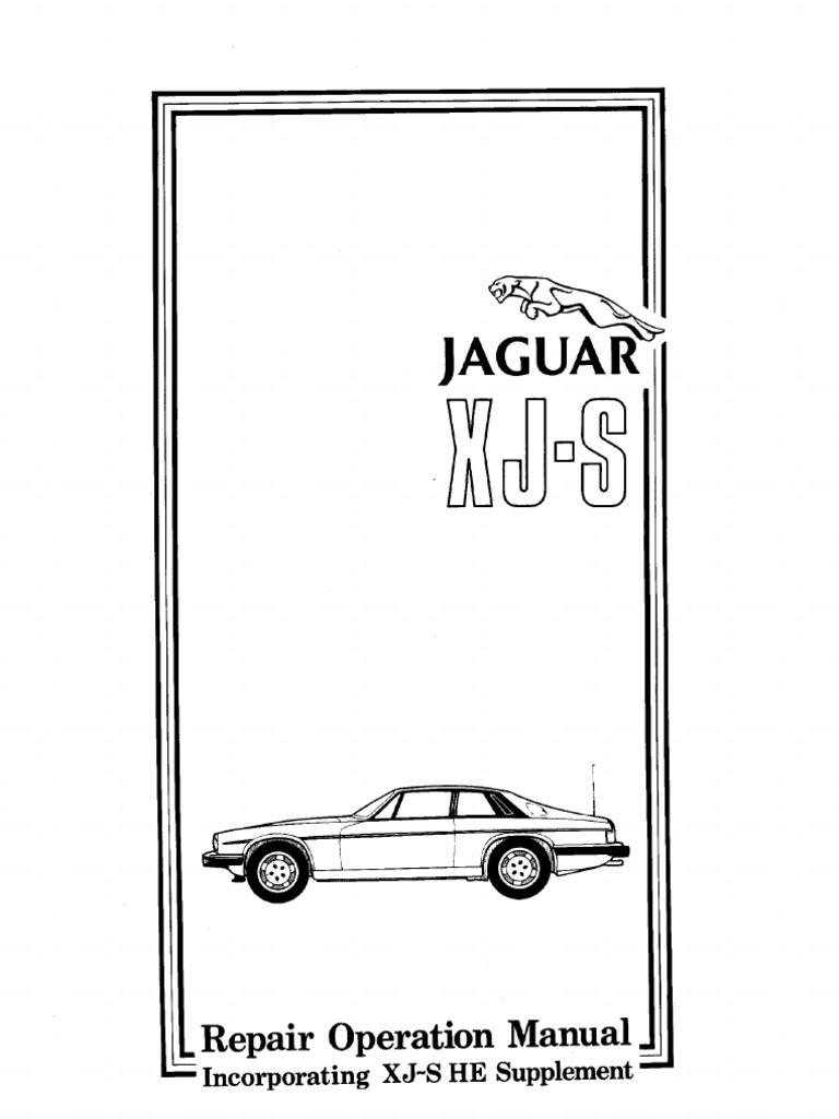 Xj s xjs 75 to 88 he electrical supplement on 1990 jaguar xjs wiring diagram pdf 1990 Dodge Ram Wiring Diagram 1994 Jaguar XJ6 Linkage Diagram