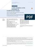 2019 ACC-AHA Guideline on The Primary Prevention of Cardiovascular Disease