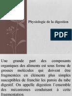 Physiologie digestive 2013-2014