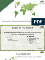 Testing, Inspection, & Certification Market