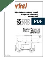 SR3370-SR2770 Repair Parts Manual September 2006 Version PM2