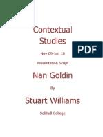 Nan Goldin Presentation Edited