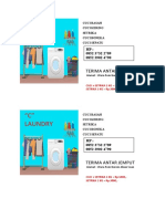 brochure laundry