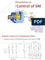 Control of Synchronous Motor