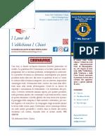 I Leoni Del Valdichiana I Chiari | Città di Montepulciano | Numero 5