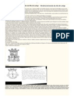 História Do Brasão de Loriga - Pequeno resumo da fase inicial do vergonhoso processo