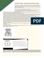 História Do Brasão de Loriga - Pequeníssimo resumo da fase inicial do vergonhoso processo