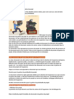 Modèles de documents de gestion de projet-
