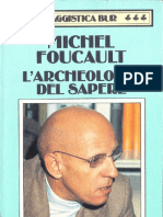Foucault_archeologia del sapere