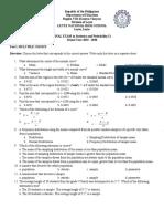 final exam stat 2019 - 2020