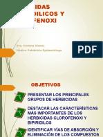 PLAGUICIDAS HERBICIDAS BIPERIDILICOS Y CLOROFENOXI
