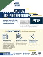 SEGURIDAD DE LOS PROVEEDORES