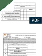 CHECK LIST DE LIMPIEZA- EDF 27