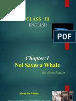 Prose 1 - Noi Saves a whale