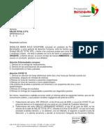 Llamado de atención de la Personería a la EPS Salud Total