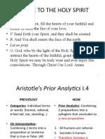 Aristotle Prior Analytics I 4