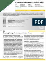 Steuerinformation Gewerbe Q1 2020 LHV-Steuerberatungsgesellschaft
