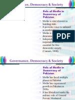 Lesson 38- Media & Democracy in Pakistan