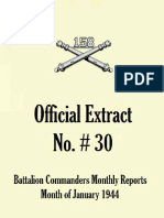 158th Field Artillery Extract No. 30