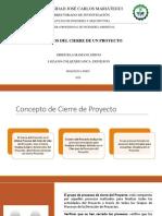 PROCESOSDECIERREDE UNPROYECTO pdf