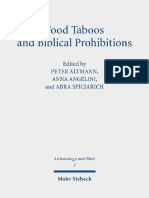Volokhine, 'Food Prohibitions' in Pharaonic Egypt. Discourses and Practices.pdf