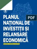 Planul National de Investitii Si Relansare