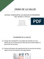 Clase 1 ECONOMÍA DE LA SALUD
