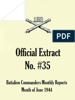 158th Field Artillery Extract No. 35