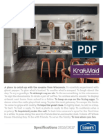 2016 KraftMaid Spec Book - Lowes.pdf