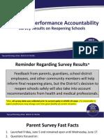 School District of Palm Beach County Survey
