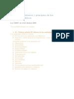 esquema de deberes y principios de los empleados públicos