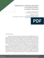 3. GLOBALIZACIÓN Y REFORMA EDUCATIVA EN AMÉRICA LATINA.pdf