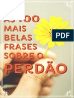 As 100 Mais Belas Frases Sobre o PERDÃO - E-book