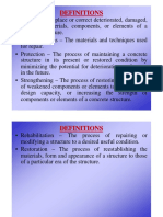 Rehabilitation of Structures P1 [Compatibility Mode]