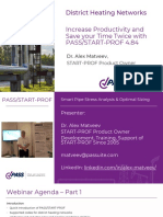 PASS START-PROF Capabilities for District Heating Industry