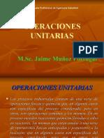 Operaciones Unitarias - 1   2020