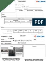 Formato KAIZEN