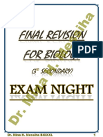 Final Revision 2020 Exam Night