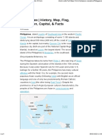Philippines History, Map, Flag, Population, Capital, & Facts