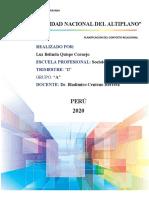 Planificación de los componentes relacionales