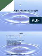 Monitoringul resurselor de apa