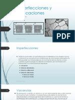 Laboratorio #4 - Imperfecciones y dislocaciones