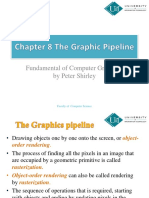 CG ch-8 (The Graphic Pipeline)